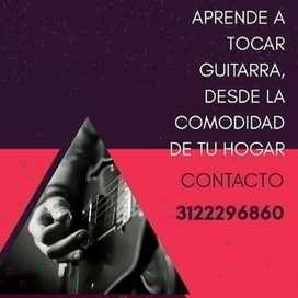 Vacaciones, aprende a tocar Guitarra desde la comodidad de tu hogar.