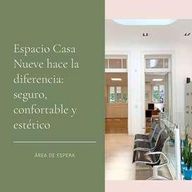 ESPACIO CASA 9 • Alquiler de estudio, consultorios y oficinas