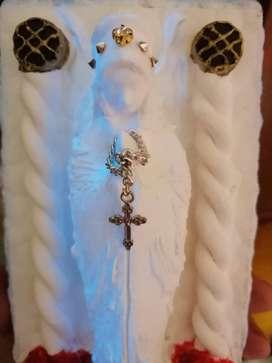 """LA SANTISIMA "" Virgen de la salud y la proteccion.  Agüita sagrada."