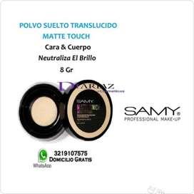 Polvo suelto traslúcido Matte touch  • Samy
