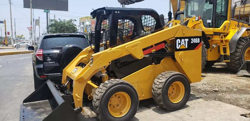 Minicargador Caterpillar CAT 246D  2016 0