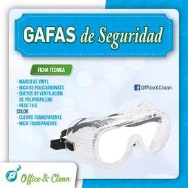 Monogafas para protección ocular