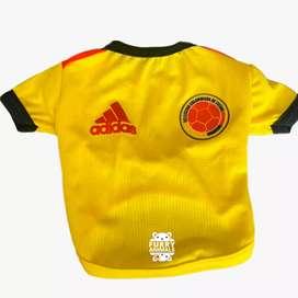 Camiseta selección Colombia para perro o gato