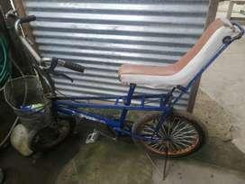 Vendo una bicicleta