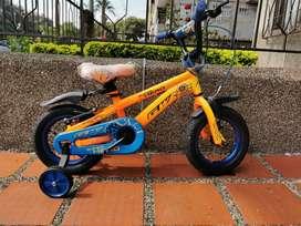 Bicicleta Gw ganga Rin 12 a Crédito