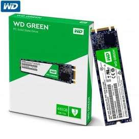 Disco Rigido Ssd 480gb Wd M2 Green
