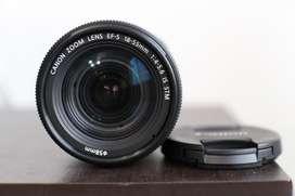 Lente Canon 18-55 4-5.6 Is Stm