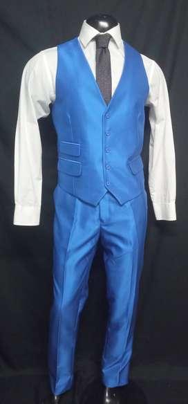 * Trajes Slim Fit azules de hombre para toda ocasión