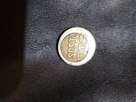 Moneda de 500 Defectuosa