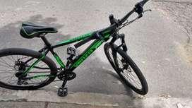 Vendo bicicleta en ferfeto estado x motivo de viaje