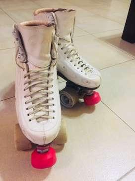 Vendo patines usados para patín artístico en buen estado