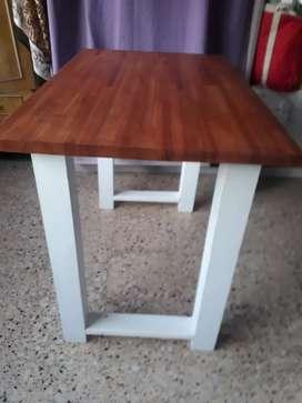 Mesa nueva 1mt x 60 madera de entablonado