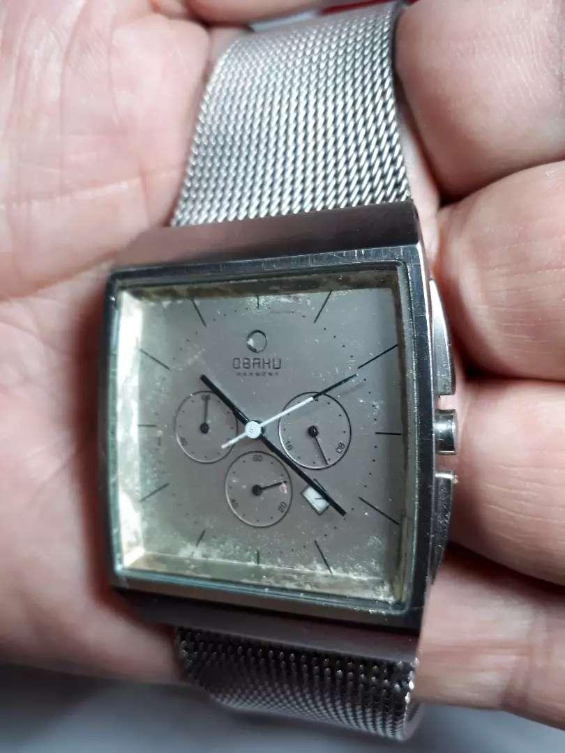 Vendo cambio bonito  reloj OBAKU cronografo  cuarz