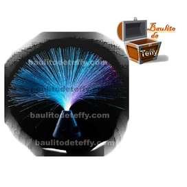 Lampara Fibra Optica Decorativa Led Decoracion 32cm Regalo