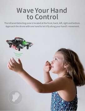 MINI DRONE ACROBATICO TAICHI JJRC H56 LO MANEJAS CON CONTROL O CON GESTOS DE LA MANO! NUEVOS!!