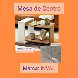 Mesa de centro INVAL