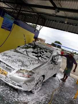 instacion Espunadoras para Lavado de Carros