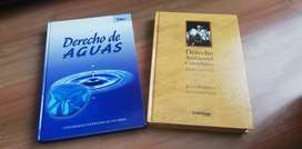 Libros Derecho de Aguas y Derecho Ambiental Colombiano Tomo 1