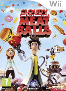 juego wii CLOUDY WITH A CHANCE OF MEAT BALLS usado
