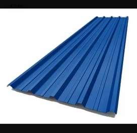 Vendo 20 chapas NUEVAS trapezoidal C25 106M² color azul: 14 de 5mts x 1,10mts y 6 de 4mts x 1,10mts TODO X $ 225MIL