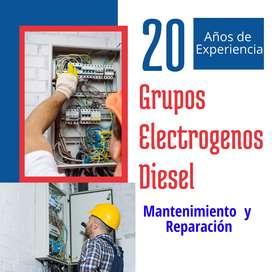 Grupos Electrogenos Soporte Tecnico Servicio Mantenimiento Grupo Electrógeno Lima