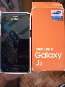 Celular Samsung galaxy j2. Tuvo un tu golpe y quedó la pantalla en negro