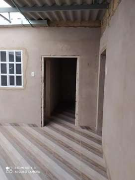 Casa un solo piso, con bases para edificio