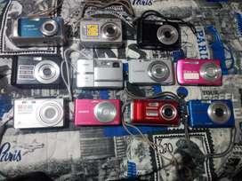 Lote de cámaras  de segunda (precio negociable)