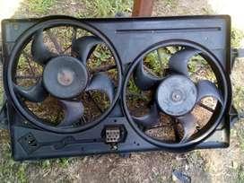 Se vende radiador y electroventiladores de Ford Focus