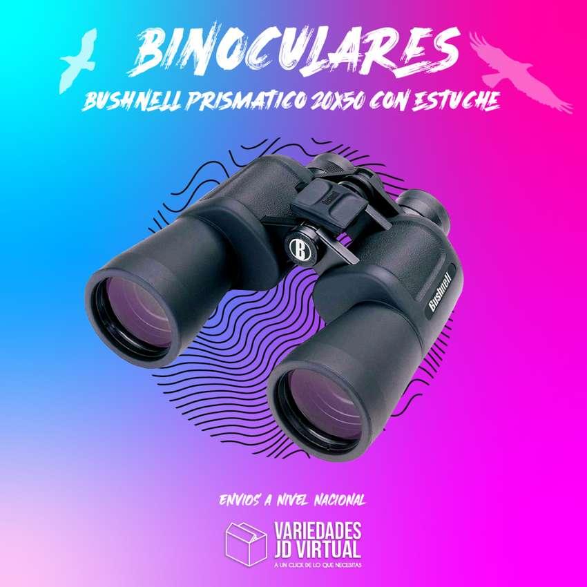 Binoculares Bushnell Prismático 20x50 Con Estuche