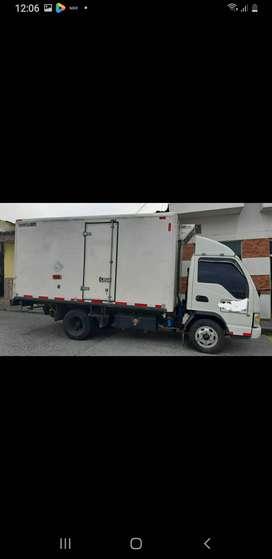 vendo o permuto JAC 1040 furgón en fibra de vidrio con thermokin modelo 2015.