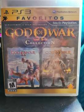 Juego God of war collection ps3