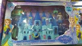 Castillo Princesa Frozen Luces Y Sonidos