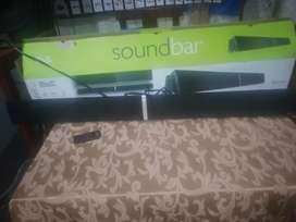 Soundbar nuevo nada de uso