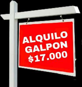 Alquilo Galpón