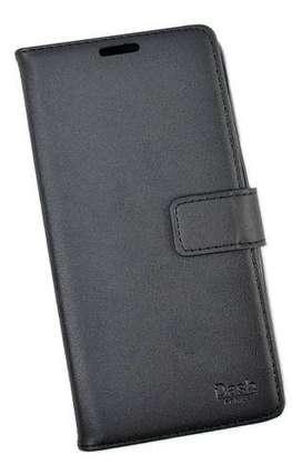 funda estuche Flip Cover tapita Samsung J8 Simil Cuero DASH