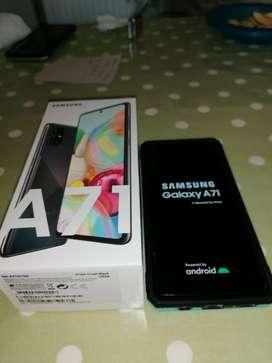 Samsung Galaxy A71 128gb / Color Black / Nuevo