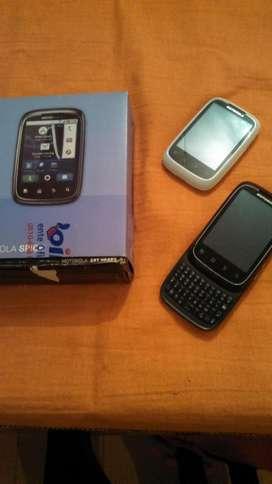 MOTOROLA XT300 c ANDROID, TACT y TECL, CAM, WIF,GPS en CAJA!! PERMUTAS!!!