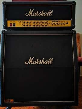 Amplificador de guitarra Marshall jcm 2000 tsl 100