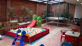 Alquiler piscinas de pelotas trampolines Recreadores cel 319 - 2135600