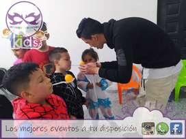 Servicio de recreación, fiestas infantiles juegos y dinamicas celebración de cumpleaños hora loca payasos titeres