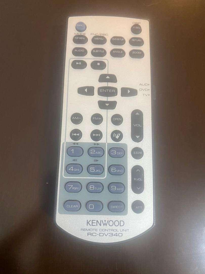 Control radio kenwood