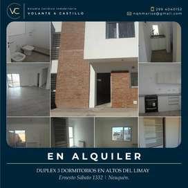 DUPLEX 3 DORMITORIOS | ALTOS DEL LIMAY | NEUQUÉNN