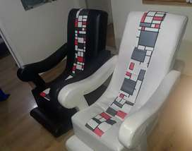 Vendo sillas mecedoras