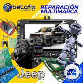 REPARACIÓN RADIOS DE AUTO ORIGINALES JEEP BETAFIX DESDE