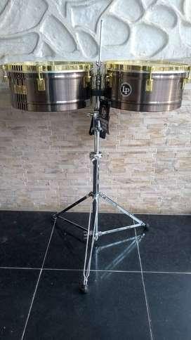 Timbal Lp Latin Percussion Lp257-kp 14 15 Karl Perazzo