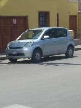 Vendo mí auto Toyota passo hatchback del año 2005, documentos en regla uso particular.
