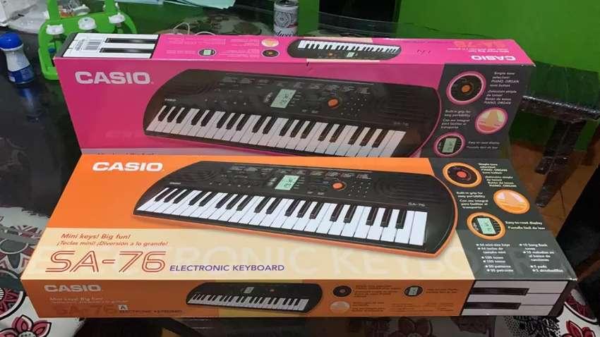 Organeta Casio SA-76 Para Niños 0