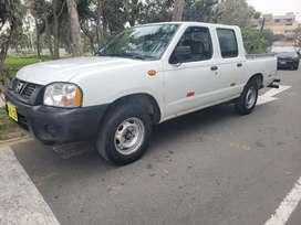 Nissan Frontier 2014, Mecanica, Motor 2.5cc Gasolina y Glp 5ta