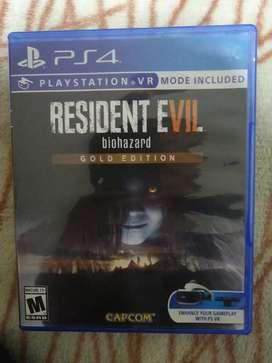 Resident evil gold edition perfecto estado